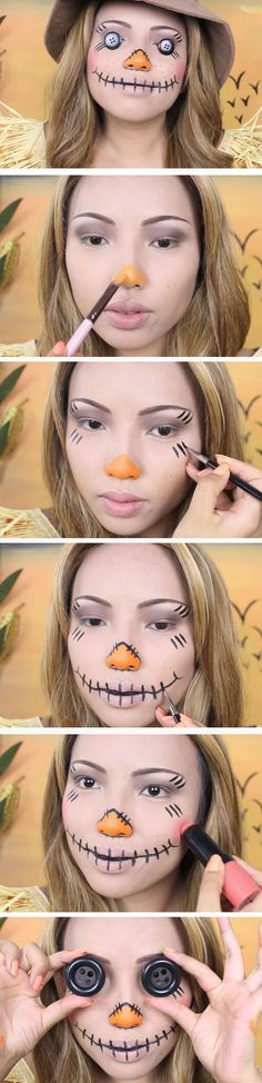 17 Absolutely Creepy Costumes and Make up for Halloween #Costumes