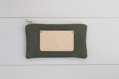 'VINTAGE SWISS ARMY' CANVAS POUCH SMALL