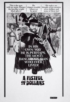 "A Fistful of Dollars (1964)  Part I of ""The Man With No Name"" Trilogy"