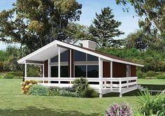 Hemos seleccionado modelos de casas de campo construidas en terrenos pequeños y medianos, estos diseños utilizan diferentes materiales de construcción, de