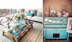Turquoise decor #decor #turquesa #homesweethome