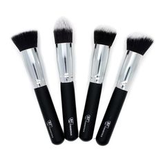 Royal Care Cosmetics 4 Piece Premium Synthetic Kabuki Makeup Brush Set. Royal Care Cosmetics 4 Piece Premium Synthetic Kabuki Makeup Brush Set. Very soft to touch. This brush set is perfect for beginner makeup artist or for a professional.