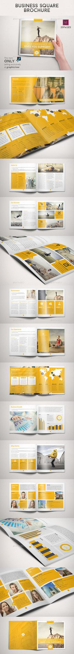 Business Square Brochure - Corporate Brochures
