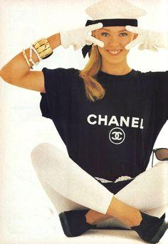 """The New Style: Kylie Minogue"", Cleo Australia, November 1987  Photographer: Alvarez  Model: Kylie Minogue"