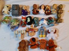 SOLD Star Wars 25 Figures Ships Lot Burger King Toys Set