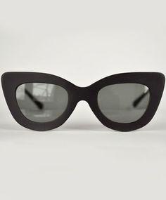 Black Triangle Sunglasses by Dusen Dusen