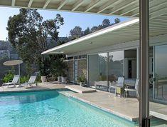 Western living   Stahl House, Case Study House #22, Pierre K…   Randolph R. Ruiz   Flickr