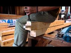 Japanese Joinery, Japanese Woodworking, House In The Woods, Asian, Building, Youtube, Buildings, Construction, Youtubers
