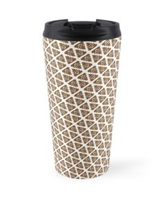"Poop Emoji Tessellation"" Travel Mugs by doire 