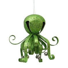 St. Nicholas Square® Octopus Bell Christmas Ornament
