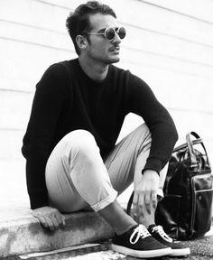 Lorenzo Liverani of Your Mirror Style wears REISS