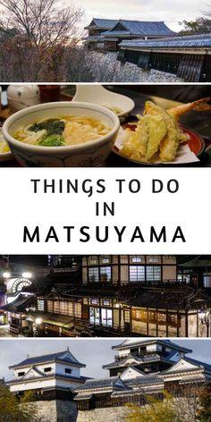 Dogo Onsen and Matsuyama City Guide