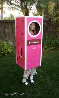 'A Casarella: DIY American Girl Box Halloween Costume