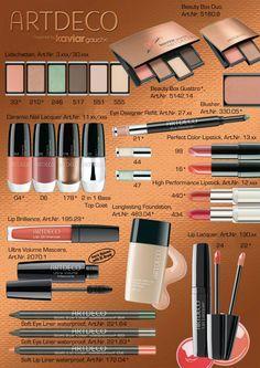 ArtDeco Beauty Meets Fashion Makeup Collection for Spring 2012 products 20s Makeup, Beauty Makeup, Makeup Lipstick, Mascara, Eyeliner, Eyeshadow, Power Of Makeup, Beauty Hacks, Beauty Tips