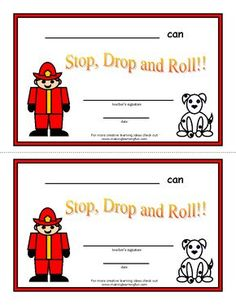 Kids Safety Fire Safety Activities (from Making Learning Fun) Fire Safety Crafts, Fire Safety For Kids, Fire Safety Week, Child Safety, Preschool Fire Safety, Preschool Projects, Preschool Lessons, Preschool Rules, Art Projects