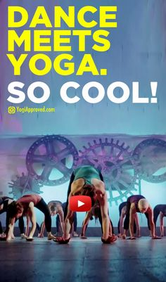 Yogadance: Dance Your Asana (Video), pinning this now but will watch later, hope its good!