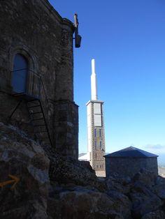 Peña de Francia. Santuario. estación y Ermita de San Andres ( De izquierda a derecha )