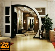 House Arch Design, Front Wall Design, Single Floor House Design, House Ceiling Design, Small House Design, Living Room Partition Design, Pooja Room Door Design, Room Partition Designs, Kitchen Room Design