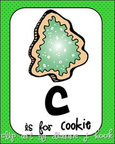 C is for Cookie and Candy