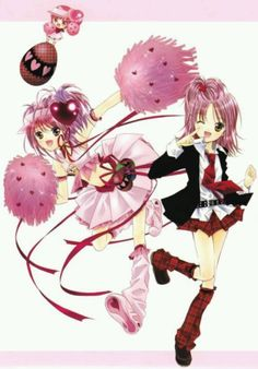 Shugo chara Ran transformation and regular
