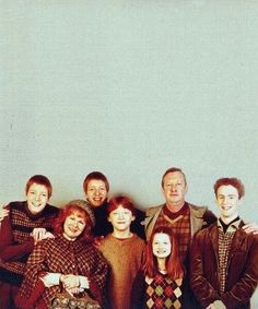 Harry Potter Ronald Wesley family