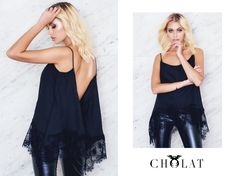 Dust Lace Top <3 https://cholatparis.com/products/rombo-top-lace-black