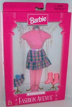 My Barbies were such snobs and only wore Fashion Avenue! Yes I did have this hideous outfit and it was on of my favs!