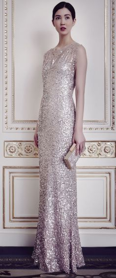 Jenny Packham Pre-Fall 2014 #jennypackham #dress #formal