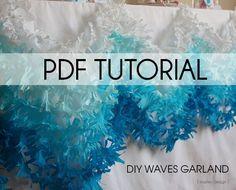 PDF Tutorial Waves Garland by MarleyDesign