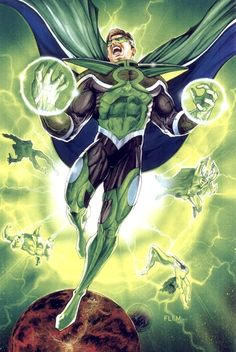 Parallax (Hal Jordan) by Tom Fleming