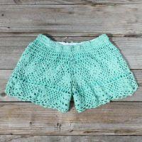 Need a pair of crochet shorts!