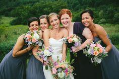 Barn Wedding Bridesmaids