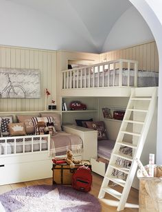 Goodness. If you had 3 children to house in one bedroom this would be a fabulous solution