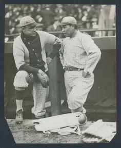 1916 Brooklyn with Marquard (left) and Meyers