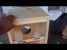 ▶ DIY Home made cajon drum - YouTube