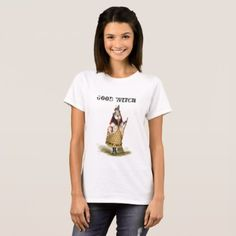 Good Witch - vintage 1884 design T-Shirt - cat cats kitten kitty pet love pussy