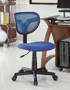 Coaster Classically Simple Office Chair Las Vegas Furniture Online | LasVegasFurnitureOnline.com | LasVegasFurnitureOnline