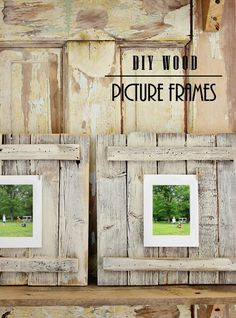 Easy DIY Wood Pictur