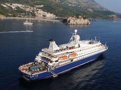 Love her.... Sea Dream Yacht Club!