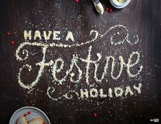 Creative Typography, Holiday, Shortbread, Photographed, and Jam image ideas & inspiration on Designspiration Food Typography, Creative Typography, Typography Letters, Hand Lettering, Web Inspiration, Creative Inspiration, Types Of Food, Food Type, Holiday Images