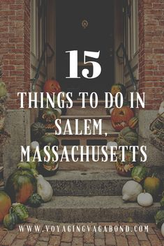 15 Things to do in Salem, Massachusetts: How to Spend a Perfect Day Uncover the real magic of Salem, Massachusetts with these fun activities! Experience the perfect day trip from Boston with these fun things to do in Salem. Day Trips From Boston, Boston Vacation, Boston Shopping, Salem Mass, East Coast Road Trip, New England Travel, All I Ever Wanted, Future Travel, Travel Usa