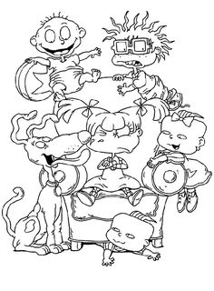 Rugrats Coloring Pages | Free Printable Rugrats Coloring Pages ...