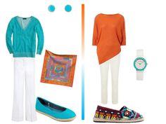 The Vivienne Files: Turquoise & Orange: A Packing Capsule based on Hermes Fleuri de Provence
