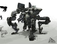 concept robots: Concept robot art by John Park