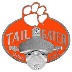 Clemson Tigers  Bottle Opener Hitch Cover