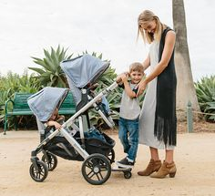 We compare the brand new Baby Jogger City Select Lux to the UPPAbaby Vista 2017. Both versatile single-to-double strollers!