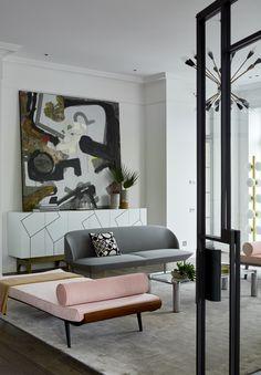Schon Modern Interior In The Suburbs