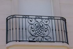 wrought iron railing for balcony - Google Search