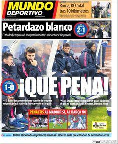 Portada Mundo Deportivo 5/1/2015