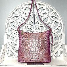 Brahmin Katie Crossbody Peony Melbourne Leather 749034328703 | eBay Brahmin Handbags, Brahmin Bags, Pink Leather, Peonies, Leather Backpack, Melbourne, Crossbody Bag, Handmade Items, Things To Sell